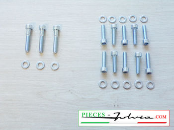 Water pump fixing screws kit Fulvia all models