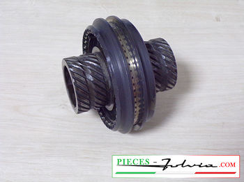 2th/3th speeds engaging sleeve on primary shaft  Lancia Fulvia 1300 series 2-3