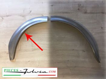 1/2 REAR LH INNER wheel arch FRONT PART Fulvia coupe all models