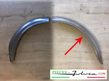 1/2 REAR LH INNER wheel arch REAR PART Fulvia coupe all models