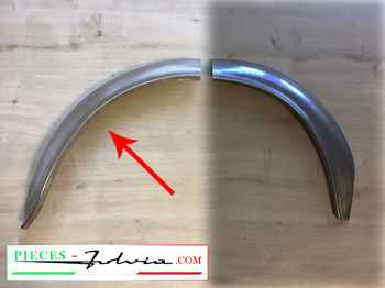 1/2 REAR RH INNER wheel arch REAR PART Fulvia coupe all models