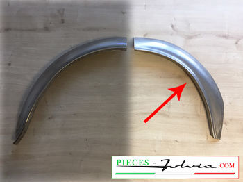 1/2 REAR RH INNER wheel arch FRONT PART Fulvia coupe all models