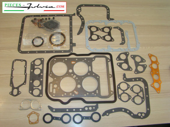 Complete gasket kit (STANDARD version) Lancia Fulvia 1300 all models