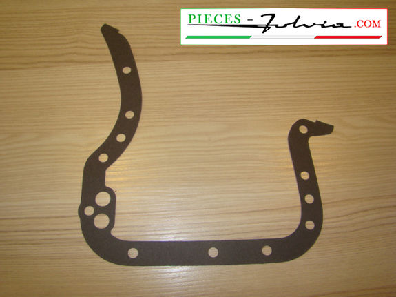 Half engine crankcase gasket (gearbox side) Lancia Fulvia all models