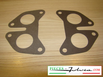 Spacer carburetor solex 35 gaskets Lancia Fulvia 1300 all models