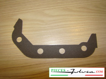 Half engine crankcase gasket (front left side) Lancia Fulvia all models