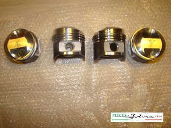 Piston set GR4 Ø 77,4mm with axis and rings for Lancia Fulvia 1300