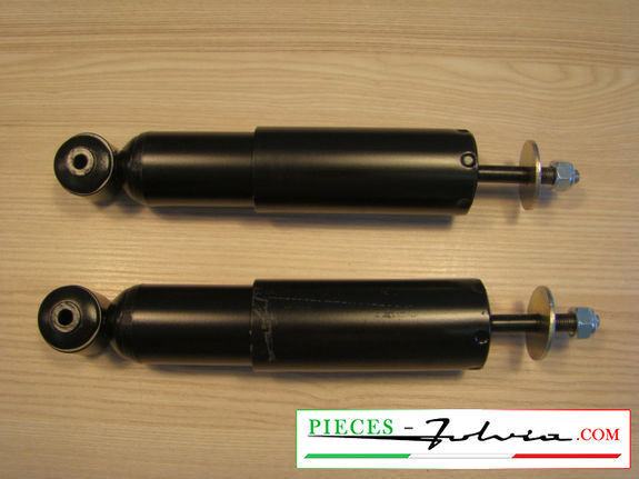 set of two front shock absorbers with oil, origin type Lancia Fulvia all models