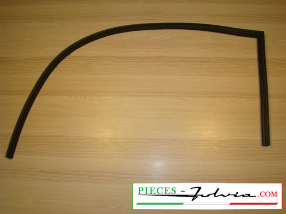 Upper open door rubber seal (right side) Lancia Fulvia coupe all models