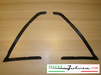 Set of deflector windows rubber seal Lancia Fulvia Coupé all models