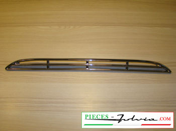 Chrome Grille for air intake on front hood Lancia Fulvia coupe all models