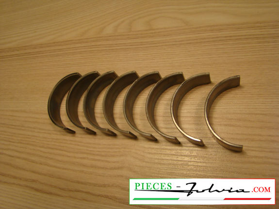 Set connecting rod bearings -0.01'' (1st repair dimension) Lancia Fulvia 1600 all models