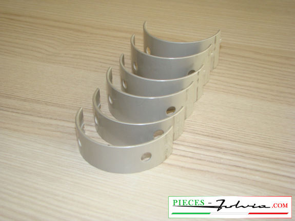 Set main bearings -0.01 ' ' (1st repair dimension) Lancia Fulvia all models