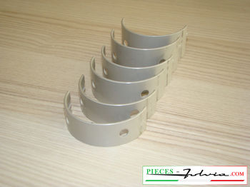 Set main bearings -0.1 ' ' (1st repair dimension) Lancia Fulvia all models