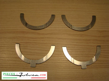Set thrust washer thickness + 0.1 mm (repair dimension) Lancia Fulvia all models