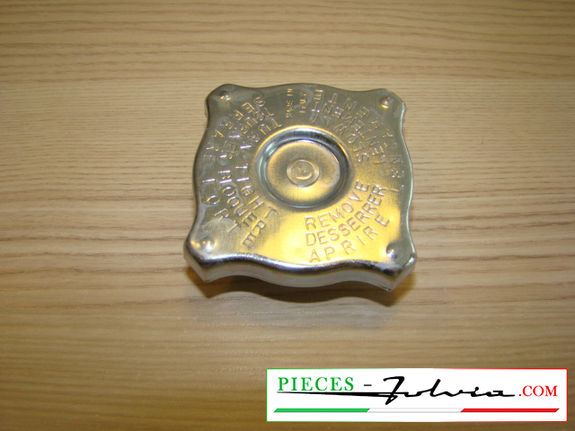 Cooling radiator cap Lancia Fulvia serie 2 and 3 all models