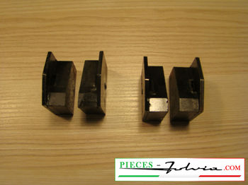 Hand brake pads set Lancia Fulvia serie 1 all models