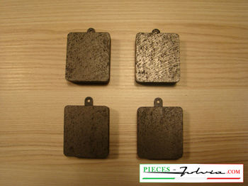 Rear or front brake pads set Lancia Fulvia serie 1 all models