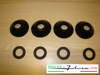 Kit gommini revisione pinze freno POST. Lancia Fulvia serie 1
