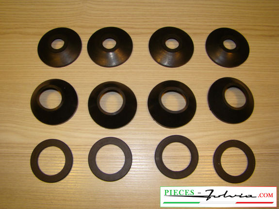 Kit gommini revisione pinze freno ANT. Lancia Fulvia serie 1