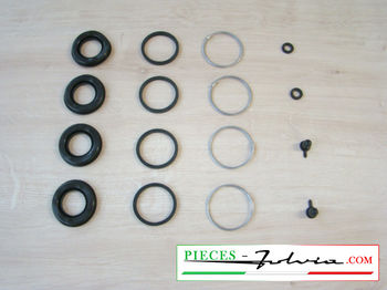 Repair kit rear brake calipers Lancia Fulvia serie 2 and 3 all models
