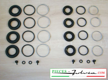 Repair kit front calipers Lancia Fulvia serie 2 and 3 all models