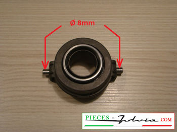 Clutch bearing for Lancia Fulvia serie 2. (axis for 8mm clutch fork)