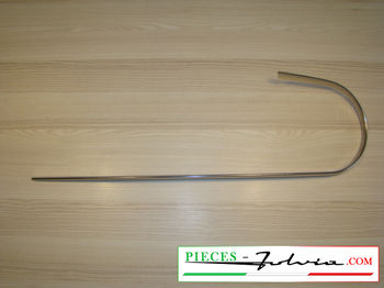 Front face moulding, left side Lancia Fulvia Coupe serie 1