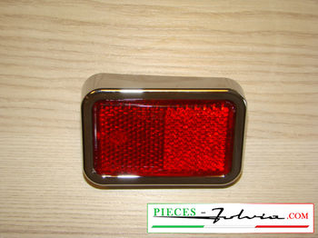 Left rear retro reflector Lancia Fulvia Coupe all models