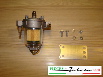 Filter pressure regulator KING with jar Glass 67mm Lancia Fulvia all models
