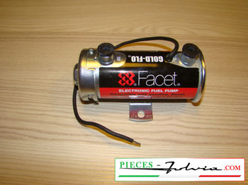Electric fuel pump FACET SILVER TOP Lancia Fulvia all models