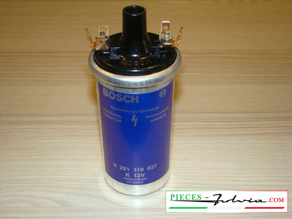 Blue BOSCH coil for ignition lancia Fulvia all models