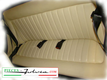 Saddlery back seat for your Lancia Fulvia all models