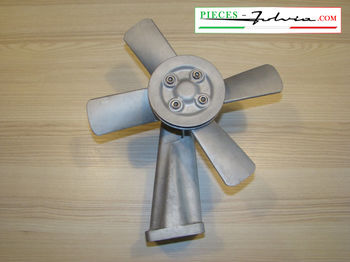 Used mechanical cooling ventilator Lancia Fulvia 1300 serie 1