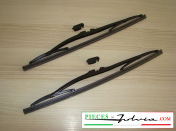 Pair of Wiper Blade VALEO SILENCIO Lancia Fulvia Coupe all models