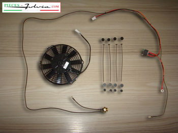 Electric fan cooling adapter kit for Lancia Fulvia serie 1 all models