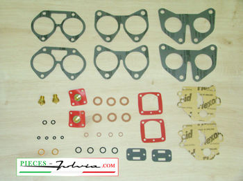 Complete gasket kit for carburetors solex 42 DDHF Lancia Fulvia 1600