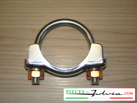 Clamp for exhaust pipe Lancia Fulvia 1300 serie 1 all models