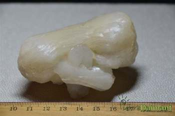 Stilbite, ensemble de cristaux, Inde.
