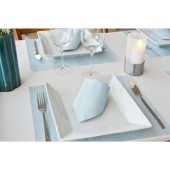 Set de table Soft 30x40 cm texture Dry Cotton CARIBEAN - carton de 800 unités