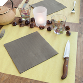 Set de table 31x43cm Paille FEEL GREEN - Carton de 1250 unités