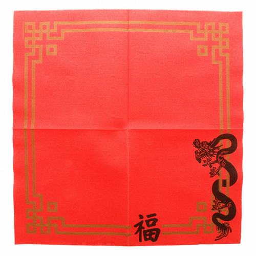 Serviette Double Point® 40x40cm CHINA - Carton de 1200 unités