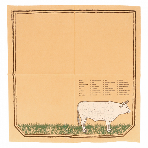 Serviette Double Point® 40x40cm CHICAGO - Carton de 1200 unités