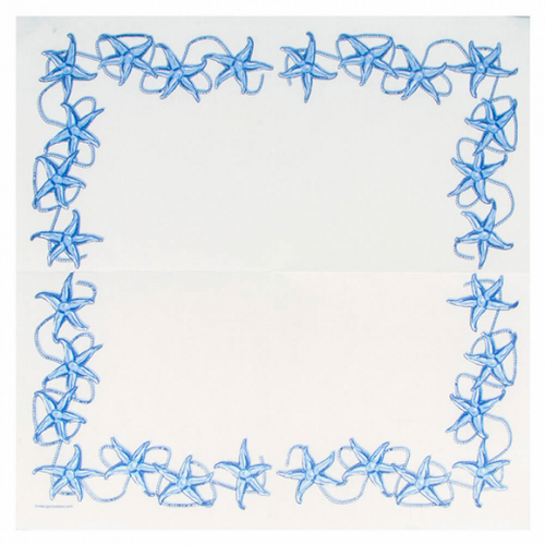 Serviette Double Point® 40x40cm ANTIBES - Carton de 1200 unités