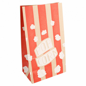 Sac à pop-corn stripes MINI  2.5 l - carton de 500 unités