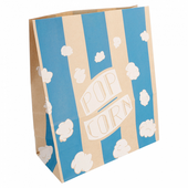 Sac à pop-corn stripes SUPER  3.8 l - carton de 500 unités