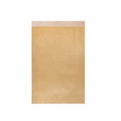 Sachet Plat 12+5x18cm Or - Kraft vergé 60g/m² - Pack de 250