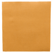 Serviette Double Point® 39x39cm OR - Carton de 1200 unités
