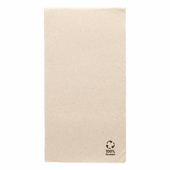 Serviette Double Point® 30x40cm pliage 1/6 Beige FEEL GREEN - Carton de 1800 unités