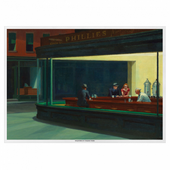 Set de table 31x43cm Nighthawk Edward Hopper  - Carton de 2000 unités